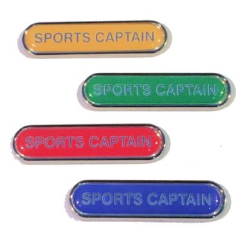 SPORTS CAPTAIN badge